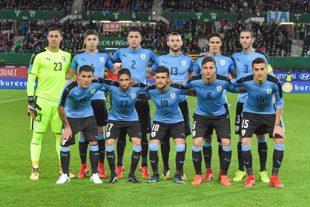 Jugadores uruguayos La Liga